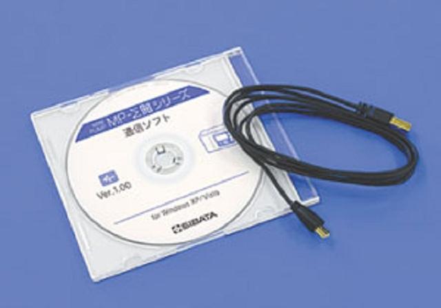 080860-0045 ソフト付通信ケーブル MP-ΣN用 柴田科学(SIBATA)